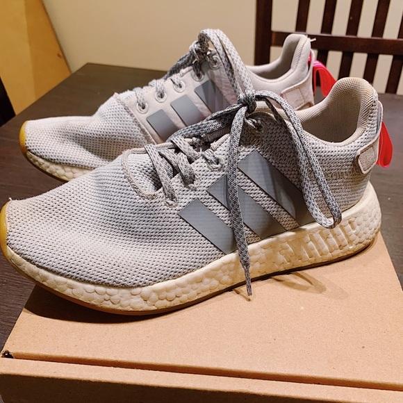 0c6f06087 adidas Shoes - Adidas Women s NMD R1 Grey + Pink